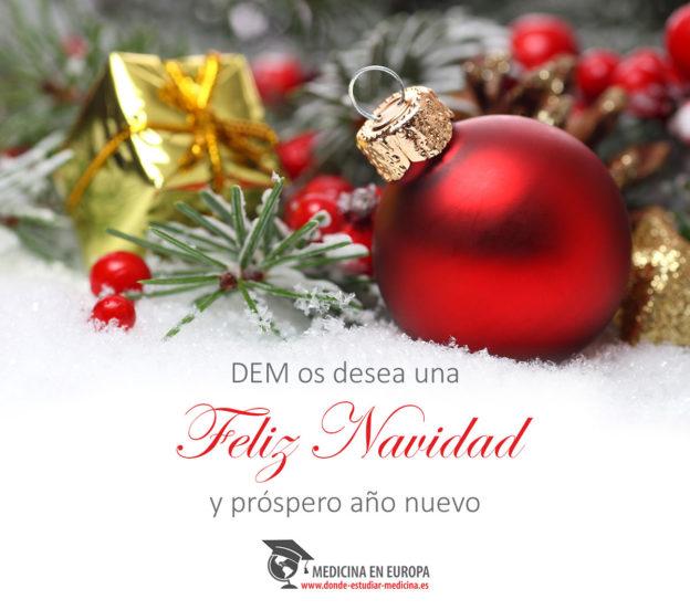 DEM feliz navidad