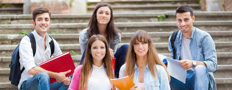 estudiantes en Stettin