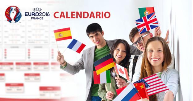 calendario eurocopa 2016