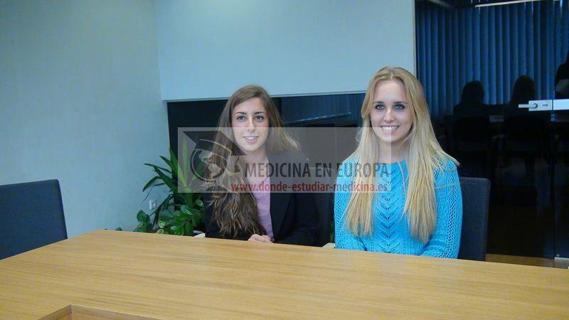 Spanish students at Kaunas University