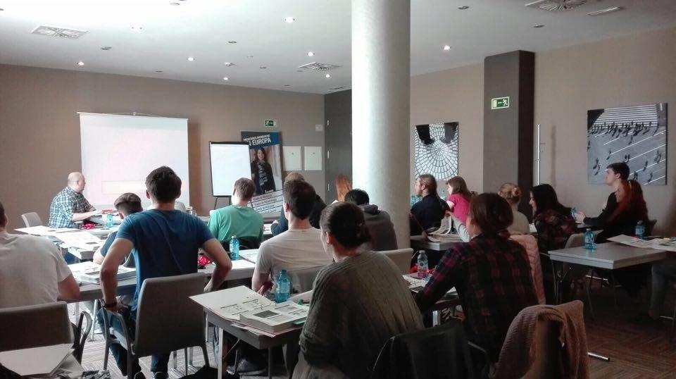 Participantes en el curso intensivo